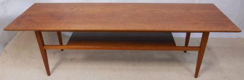 1960's Teak Retro Long Coffee Table - SOLD